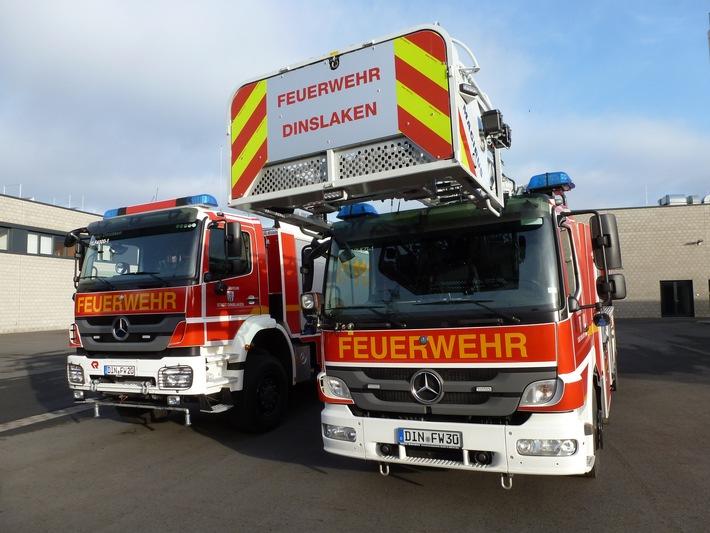 FW Dinslaken: Unkrautvernichtung mittels Gasflamme geht schief