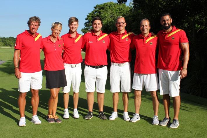 GTG-Herren mit Platz 12 bei Golf-Team-WM