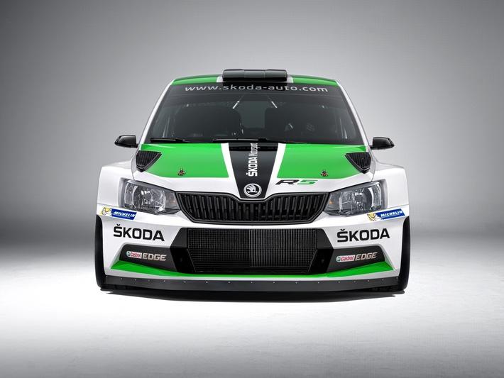 Neuer SKODA Fabia R5 feiert auch in der Kundensportszene seine Premiere