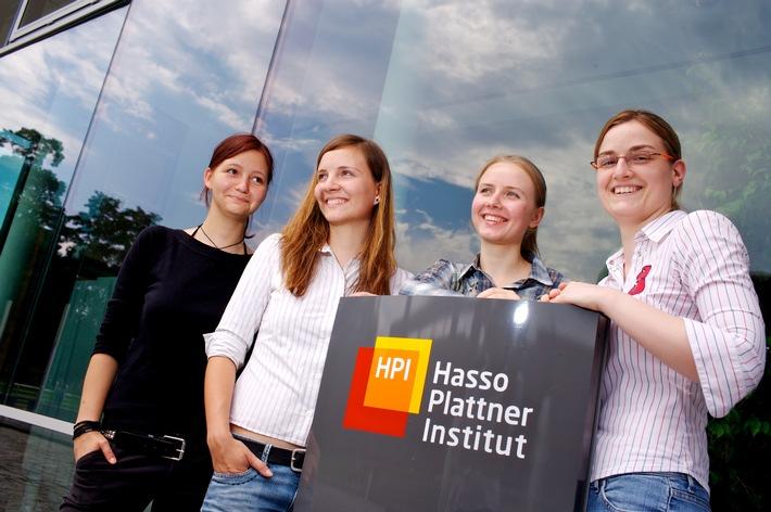 Hasso-Plattner-Institut vergibt USA-Reisestipendium an IT-Studentin