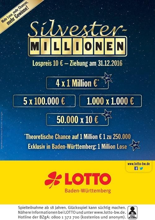 Silvesterlos Lotto
