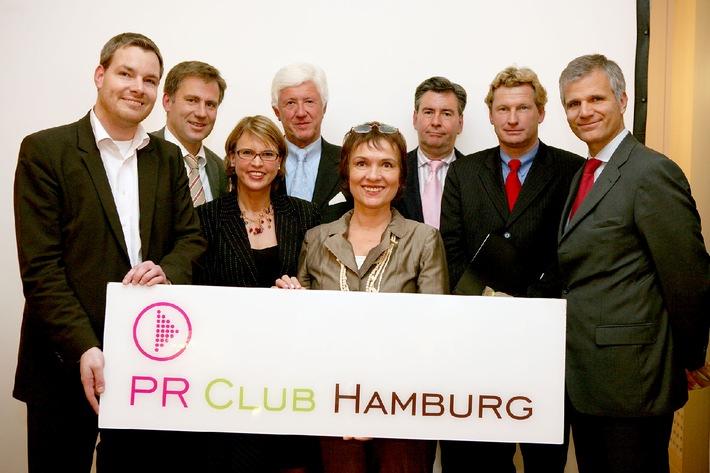 Die Spitzen der Kommunikationsbranche im PR Club Hamburg