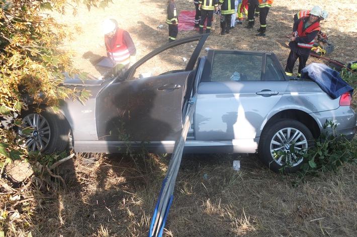 POL-DN: Drei Schwerverletzte wegen Hustenanfall