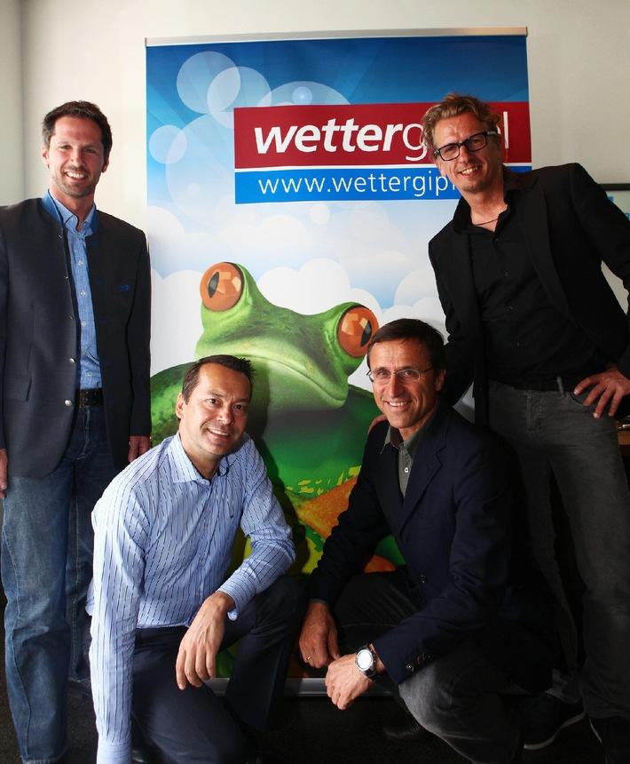 6. Int. Wettergipfel 2012 - Tiroler Bergsommer am Wilden Kaiser im Fokus der TV-Wetterstars - BILD