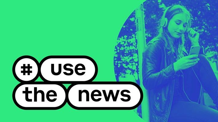 """#UseTheNews startet durch: Projekt zur Förderung von Nachrichtenkompetenz erreicht wichtigen Meilenstein / Bevölkerungsstudie vor dem Abschluss / Auftakt für hochkarätiges Kuratorium / Weiterer Text über ots und www.presseportal.de/nr/8218 / Die Verwendung dieses Bildes ist für redaktionelle Zwecke honorarfrei. Veröffentlichung bitte unter Quellenangabe: """"obs/dpa Deutsche Presse-Agentur GmbH/dpa/#UseTheNews"""""""