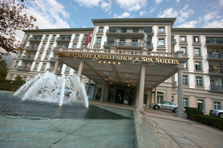 """Grand Hotel Quellenhof & Spa Suites / Weiterer Text über ots und www.presseportal.ch/de/nr/100055636 / Die Verwendung dieses Bildes ist für redaktionelle Zwecke honorarfrei. Veröffentlichung bitte unter Quellenangabe: """"obs/Grand Resort Bad Ragaz AG"""""""