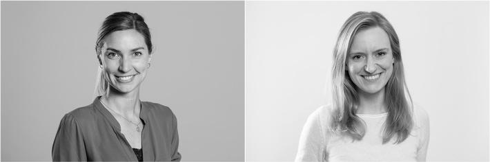 """Anika Metzdorf-Scheithauer (links) und Dr. Rebecca Schmolke (rechts) sind wissenschaftliche Angestellte am Institut für Sozialpädagogische Forschung Mainz (ism gGmbH). Von ihnen stammt u.a. die Praxisarbeitshilfe """"Wir geht nur gemeinsam"""", die das Potenzial von Jugendarbeit bei der Integration von Jugendlichen mit Fluchthintergrund aufzeigt. / Jugendarbeit bahnt sich neue Wege / Integration von jungen Geflüchteten während der Corona-Pandemie / Weiterer Text über ots und www.presseportal.de/nr/155629 / Die Verwendung dieses Bildes ist für redaktionelle Zwecke unter Beachtung ggf. genannter Nutzungsbedingungen honorarfrei. Veröffentlichung bitte mit Bildrechte-Hinweis."""