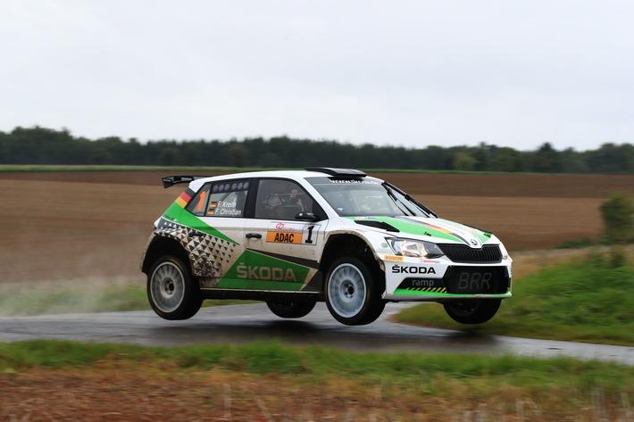SKODA Kundenteams zählen beim Auftakt zur Deutschen Rallye-Meisterschaft zu den Favoriten (FOTO)