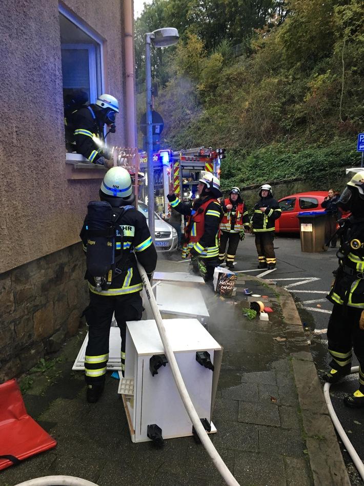 Wohnungsbrand in der Harkortstraße