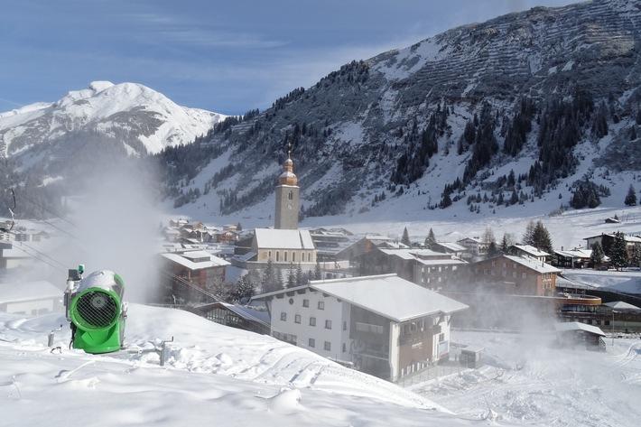 Aktuelles Ortsbild Lech Zürs am Arlberg
