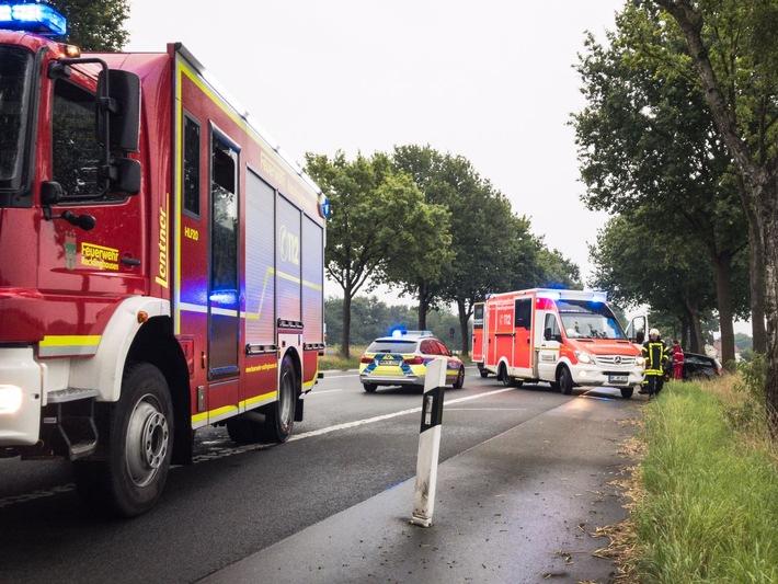 Verkehrsunfall, Marler Str., 10.08.2017, F. Herwig