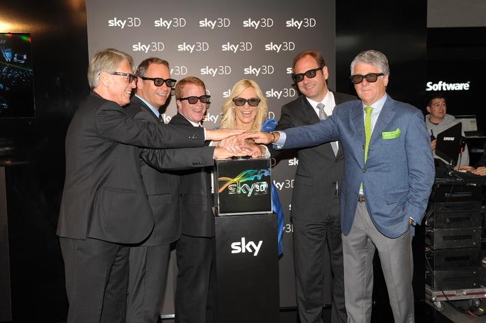 Erfolgreicher Start von Sky 3D auf den Medientagen (mit Bild)