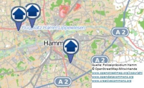 Wohnungseinbruchs-Radar für die Woche vom 06.08. bis zum 12.08.2018