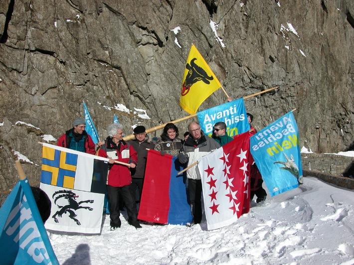 Appel de l'Initiative des Alpes en vue de la votation sur Avanti Tout le monde aux urnes: chaque NON compte!