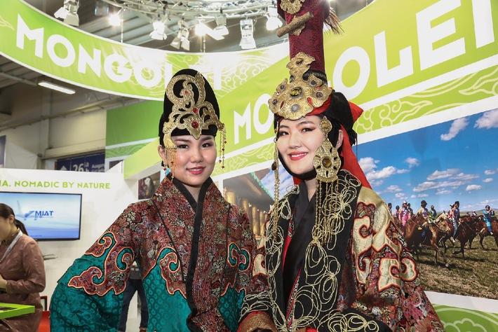Offizielles Partnerland ITB Berlin 2015: Mongolei lockt mit nomadischer Kultur
