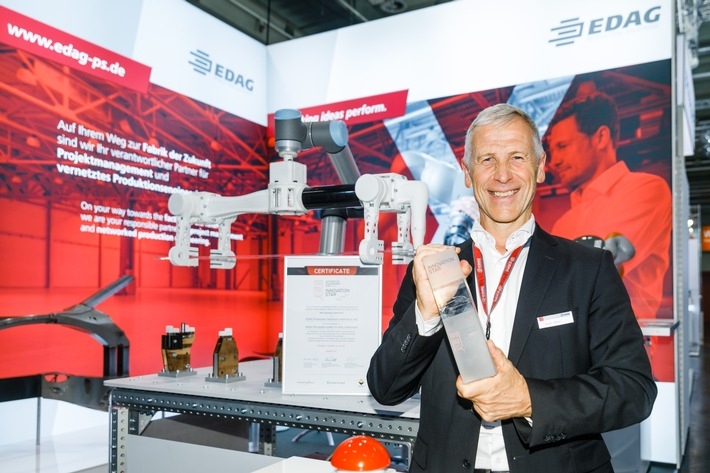 Rainer Wittich. Geschäftsführer der EDAG Production Solutions GmbH & Co. KG