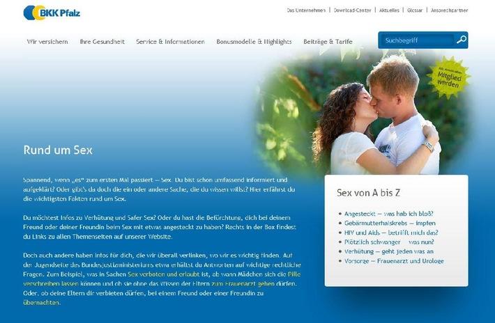 Junge Themen auf BKK Pfalz-Website / Mitarbeiter als authentische Models