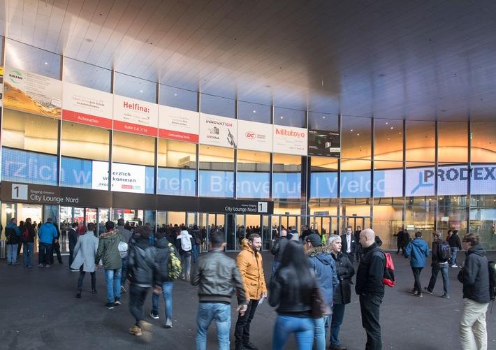 PRODEX und SWISSTECH - das wichtigste Schaufenster des Werkplatzes Schweiz