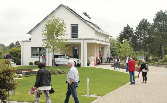 Das neue Ausstellungshaus in Wenden-Hünsborn wurde am vergangenen Sonntag offiziell eröffnet.