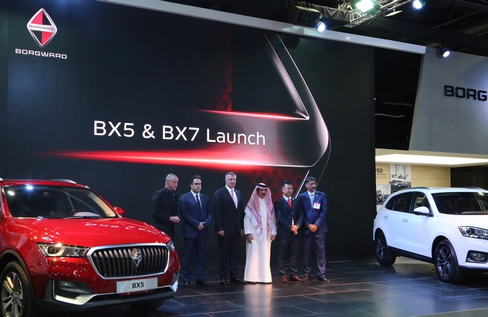 Dubai International Motor Show 2018 / Borgward launches BX7 and BX5 SUVs in Gulf States