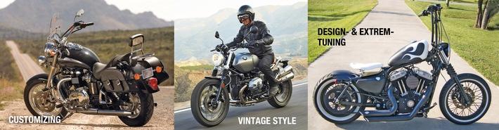 Tendances moto: personnalisation, style vintage, tuning optique