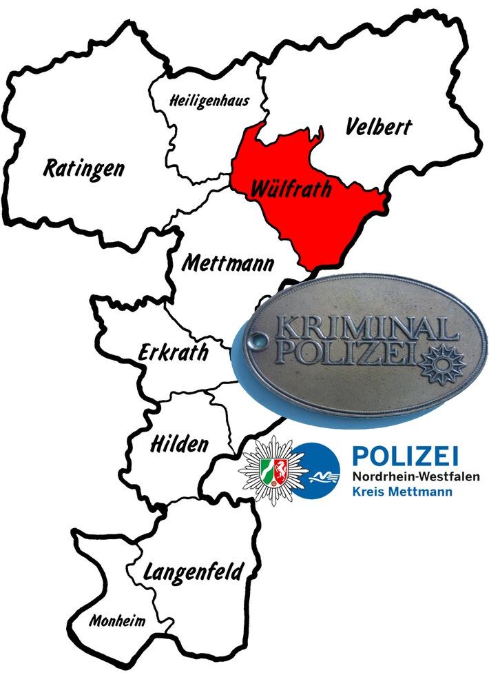 Symbolbild: Die Kriminalpolizei in Mettmann ermittelt und fahndet international nach aktuellem Komplettdiebstahl eines PKW BMW 220D X-Drive in Wülfrath