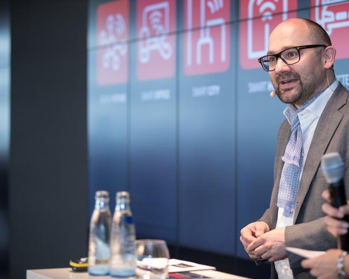 Michael Reinartz, Director Innovation & Consumer Services bei Vodafone