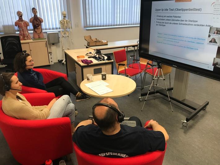 """FW-F: """"Brennen und Löschen"""" im Virtuellen Klassenzimmer"""