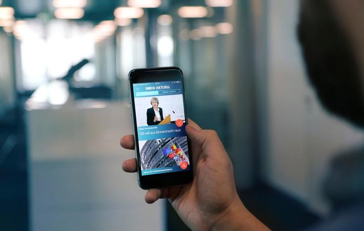 SWR Aktuell Nachrichten-App warnt jetzt vor Unwetter