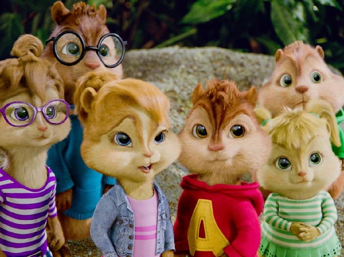 """Putzige Robinsonade: """"Alvin und die Chipmunks 3"""" am 16. Mai 2014 in SAT.1"""