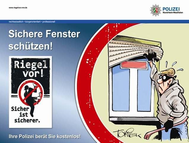 POL-REK: Erfolgreich gegen Wohnungseinbrecher! - Bergheim / Kerpen