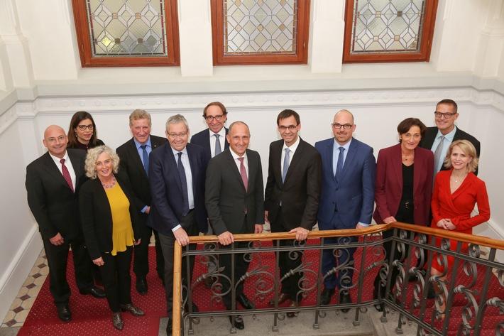Besuch der Vorarlberger Landesregierung am 28. November 2017 Foto: ikr, Brigitt Risch, Schaan