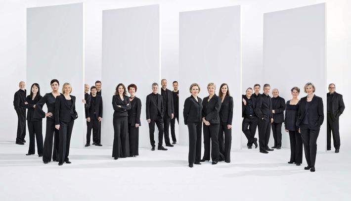 """Nordische Nacht mit dem SWR Vokalensemble Stuttgart / Konzert im Rahmen des Festivals """"RheinVokal"""" am 5.7., 20 Uhr in der Basilika St. Kastor, Koblenz / Live-Stream auf SWR2.de"""