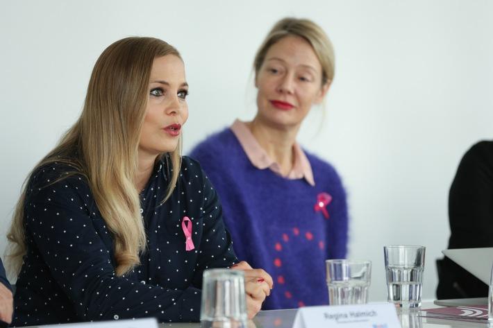 Setzt sich für Brustgesundheit ein: Regina Halmich. Foto: Venia Peuker