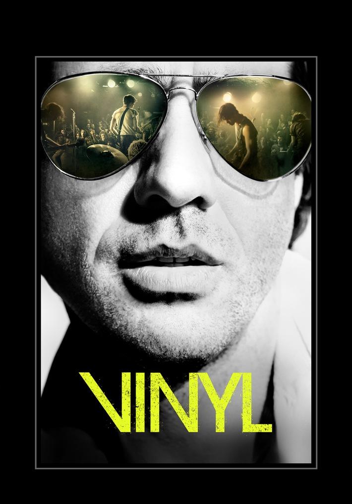 """Die brandneue HBO-Dramaserie """"Vinyl"""" von Martin Scorsese und Mick Jagger ab 7. April wahlweise auch auf Deutsch bei Sky"""