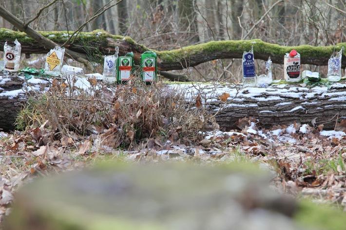 Illegale Schießübungen im Aßlarer Wald / Wer kann Angaben zu den Schützen machen?