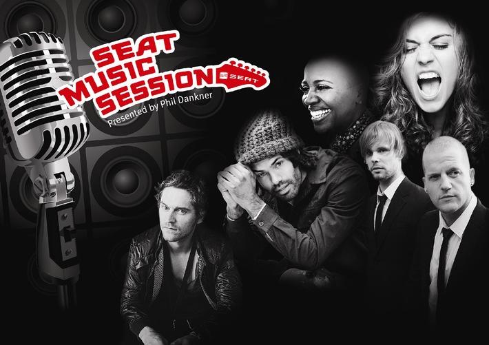 Das 360-Grad-Konzerterlebnis / SEAT Music Session Tour 2011 presented by Phil Dankner