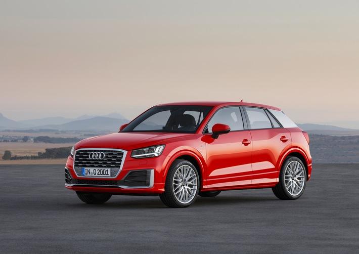 Vorhang auf: der neue Audi Q2