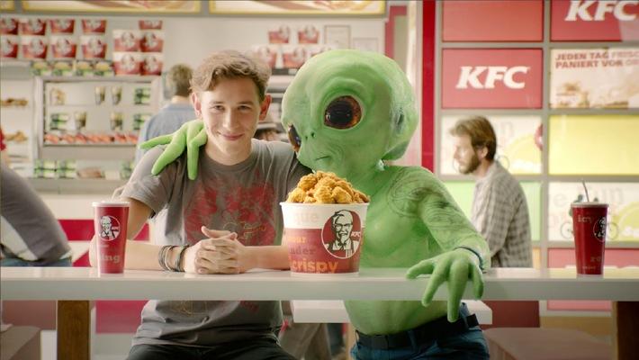 KFC will auch 2014 mit TV weiter wachsen / Erfolgreicher Start ins Jahr mit neuer emotionaler TV-Werbung