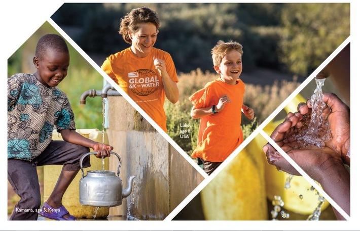 """Am 19. Mai sind Läuferinnen und Läufer zur Aktion """"Global 6K"""" für sauberes Trinkwasser von World Vision eingeladen."""