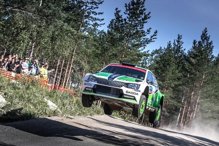 SKODA bei der Rallye Deutschland: selbstbewusst zum Asphalt-Klassiker