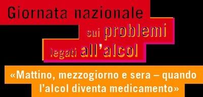 Banner Giornata nazionale alcol