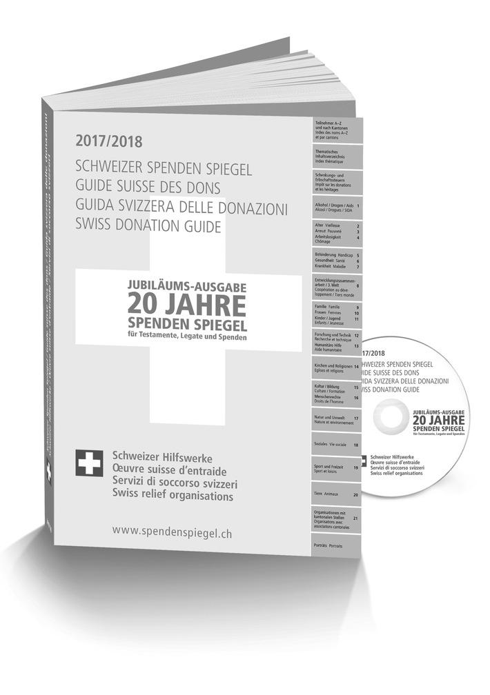 20 jahre schweizer spenden spiegel presseportal. Black Bedroom Furniture Sets. Home Design Ideas
