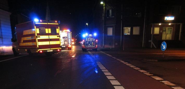 Unfall mit tödlich verletztem Fußgänger