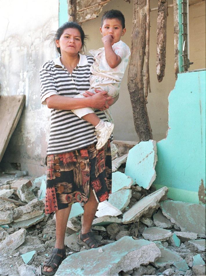 Hunderte Nachbeben haben die Kinder El Salvadors schwer traumatisiert