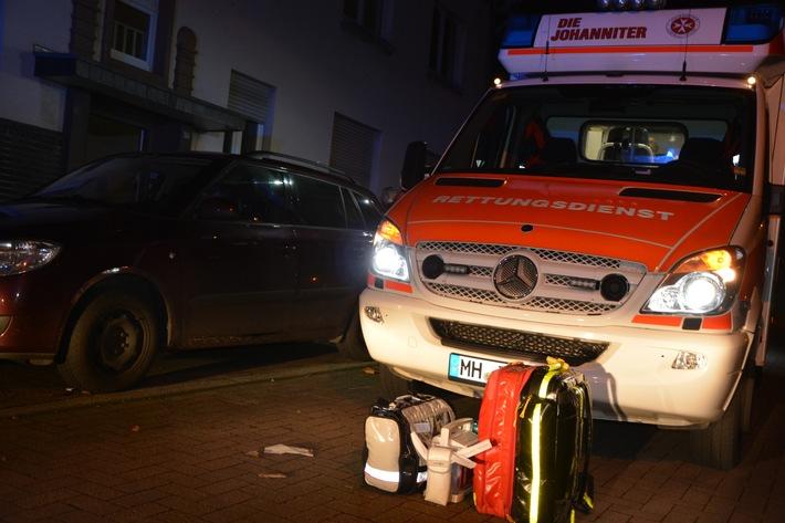FW-MH: Ein Toter Jugendlicher und sechs Verletzte bei Unfall mit Kohlenmonoxid.