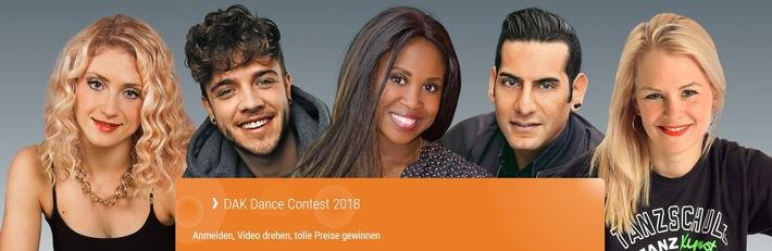 Dance-Contest der DAK-Gesundheit startet in Hamburg