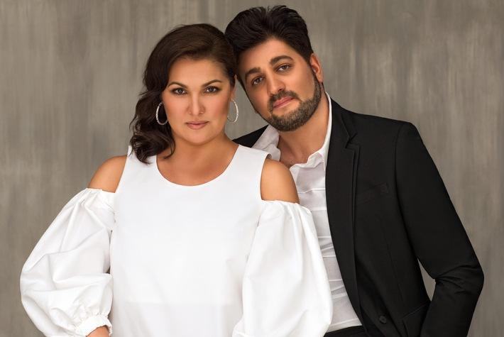 """3sat-Festspielsommer: Arien und Duette von """"Anna Netrebko und Yusif Eyvazov"""""""
