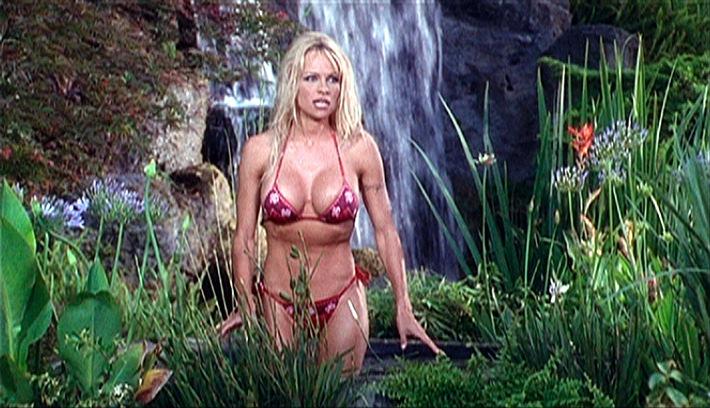 """SAT.1 V.I.P. - Die Bodyguards - """"Survi-Val"""" - Vallery Irons (Pamela Anderson) und ihre Damen ermitteln in 22 neuen Folgen, immer samstags, 14.00 Uhr in Sat.1! Foto: Sat.1, Abdruck honorarfrei nur bei Quellenangabe."""