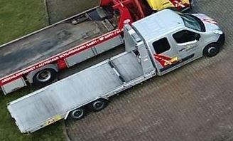 Bild des entwendeten Abschleppwagens